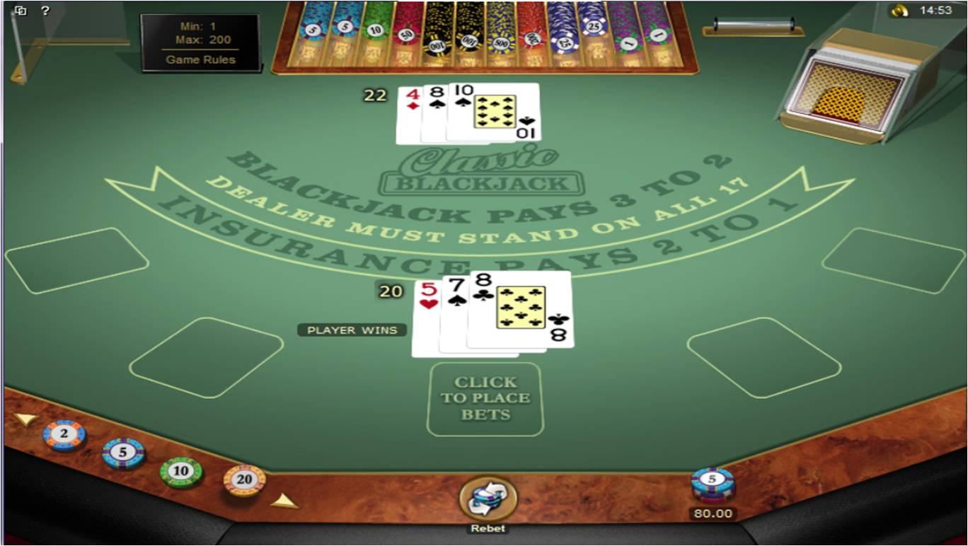 Hraj Blackjack u Bet365