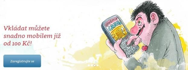 Bohemia casino mobil vklady