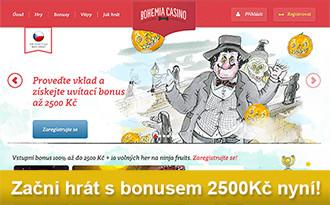 Bohemia Casino - Nově doporučená casina