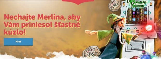 Bohemia casino automat Merlins millions