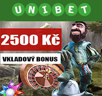 Unibet Casino Bonus 2500 Kč