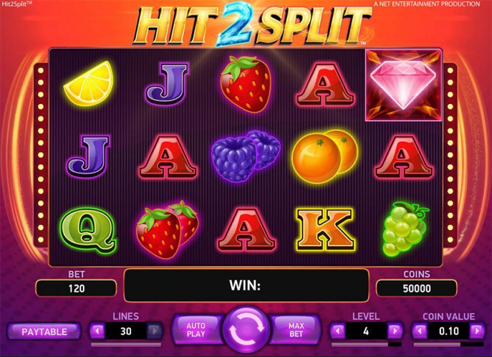 Hrací Automat Hit2Split