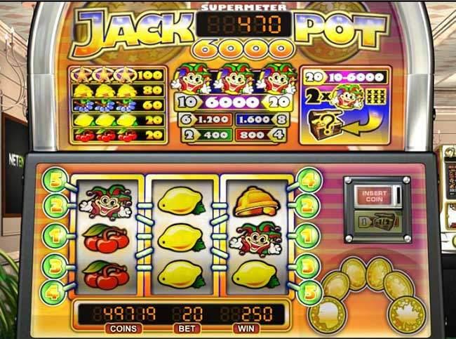 Hrací Automat Jackpot6000