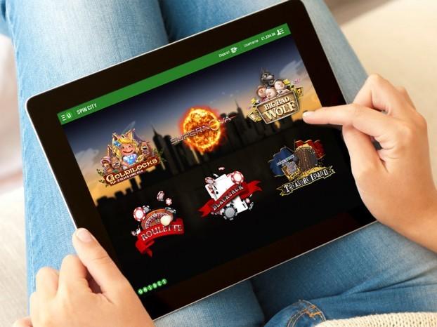 Spin city aplikace