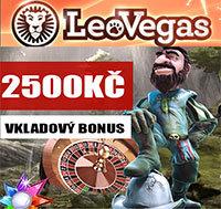 LeoVegas Casino Bonus 2500Kč