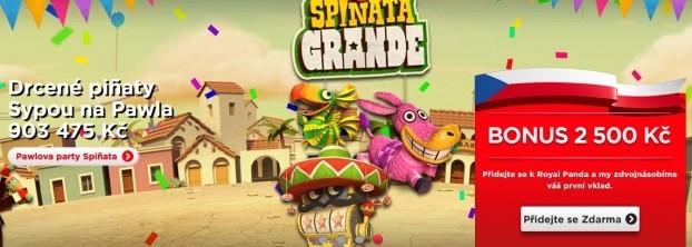 Royal Panda casino Spinata Grande