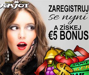 Kajot Casino Bonus 5€ Zdarma