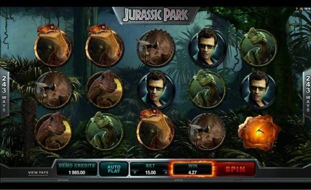 Jurassic Park Automat