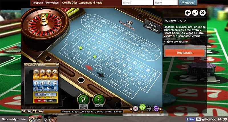 Fortuna Casino – začněte hrát ruletu zdarma