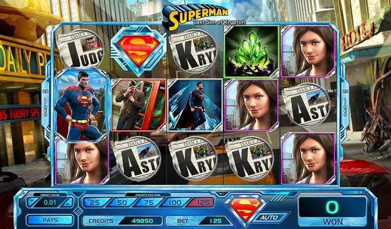 Recenze automatu: Superman – Son of Krypton