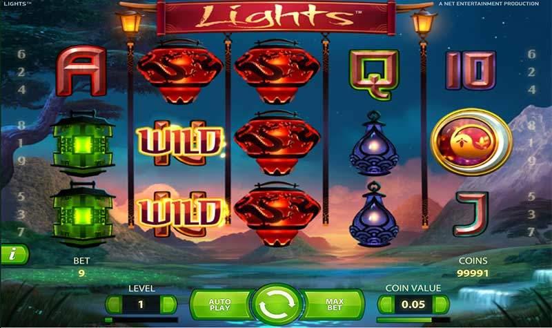 Popis automatu: online automat Lights