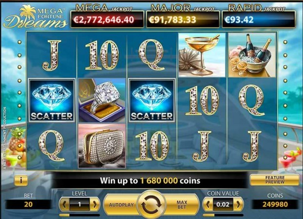 Mega Fortune Dreams Automat