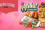 Bohemia Casino 5 zatočení zdarma na mobilní verzi Aloha