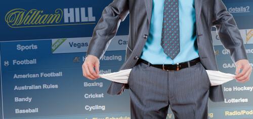 William Hill Casino zisk klesl o 16%
