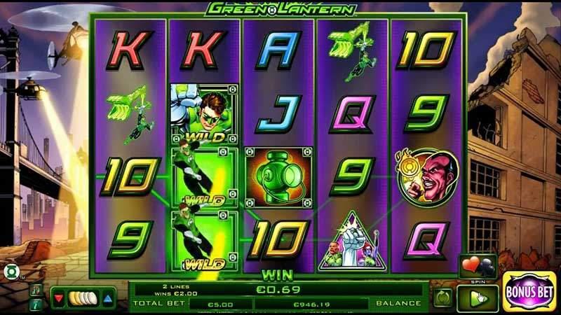 Recenze automatu: online automat Green Lantern