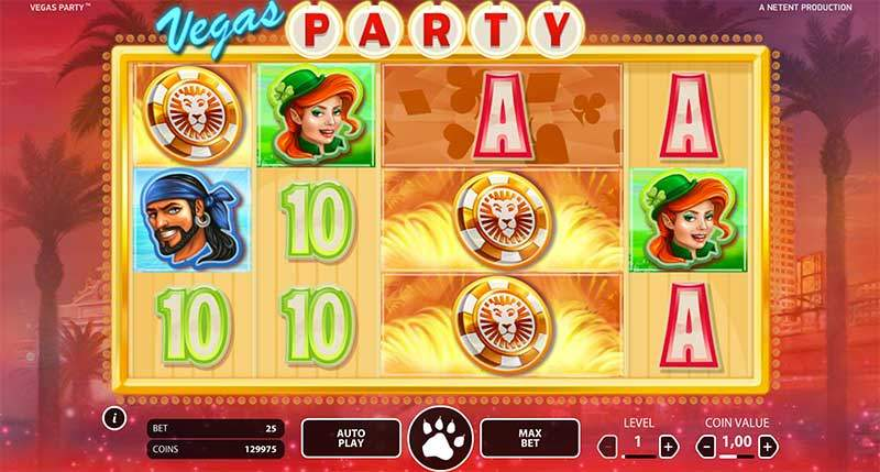Recenze automatu: exkluzivní automat Vegas Party