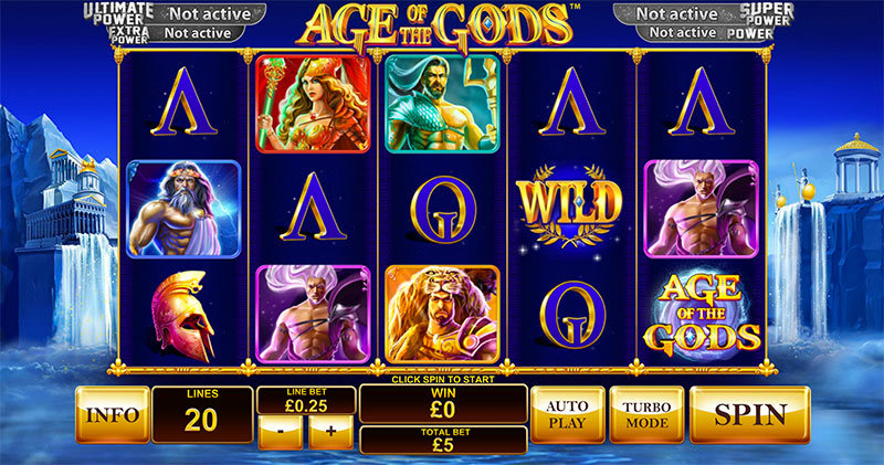 Age of the Gods Automat