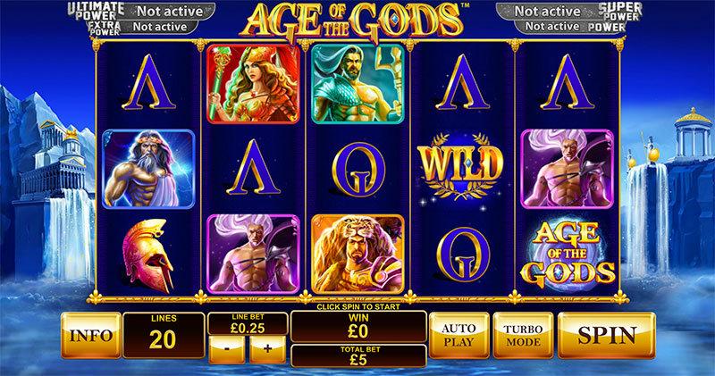 Recenze automatu: jackpotový automat Age of the Gods