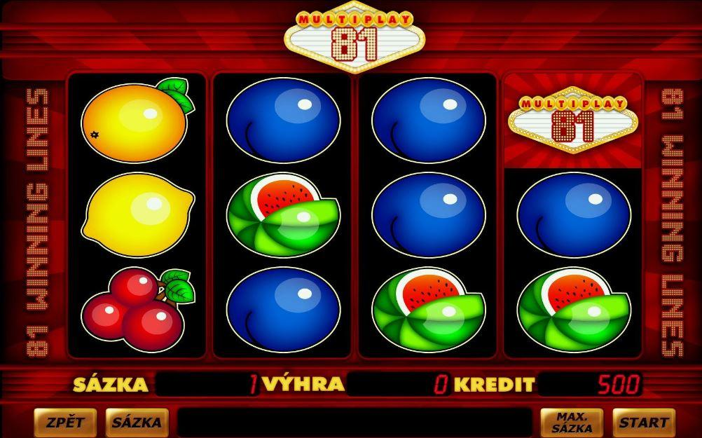 VLT automat Multiplay 81