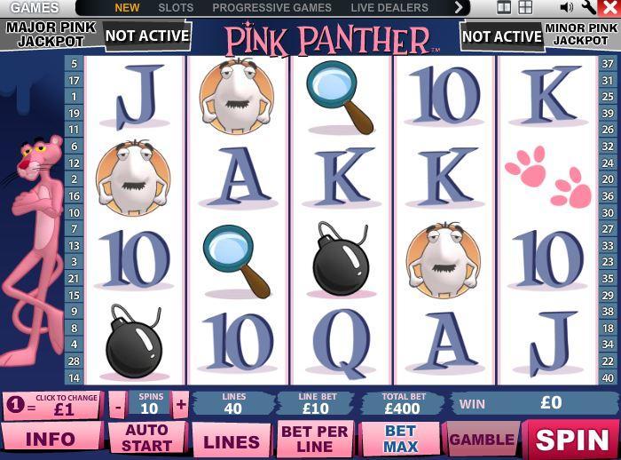 Online automat Pink Panther – Recenze automatu