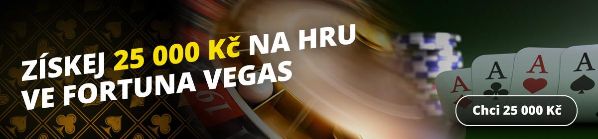 Představujeme Vegas – první české online casino od Fortuna!
