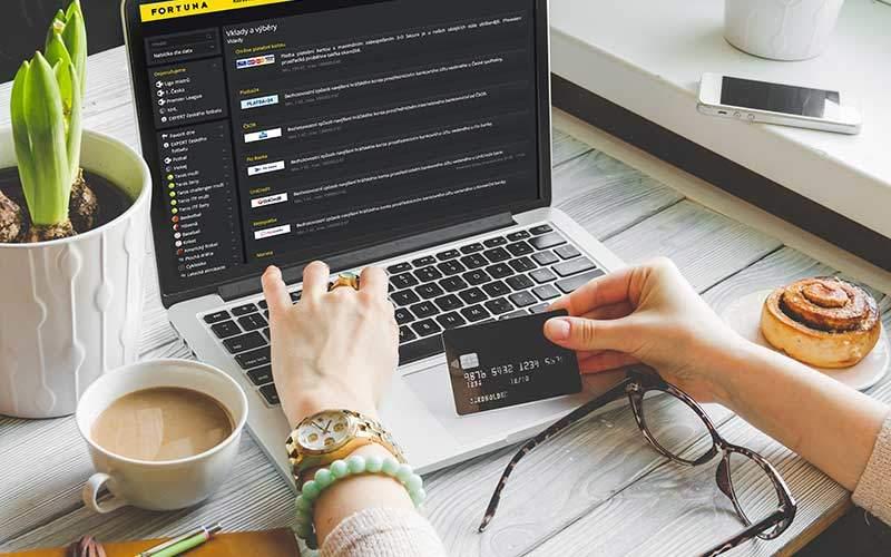 Jaké existují vklady a výběry v online casinu