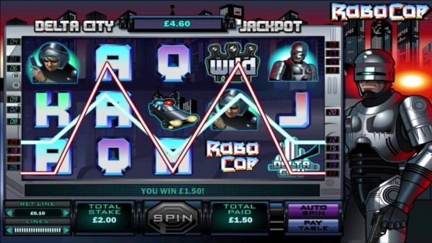 Hrací automat Robocop