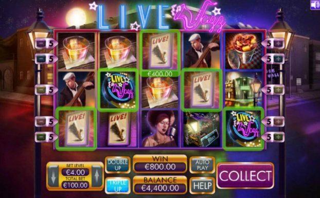 Online výherní automat Live_Jazz