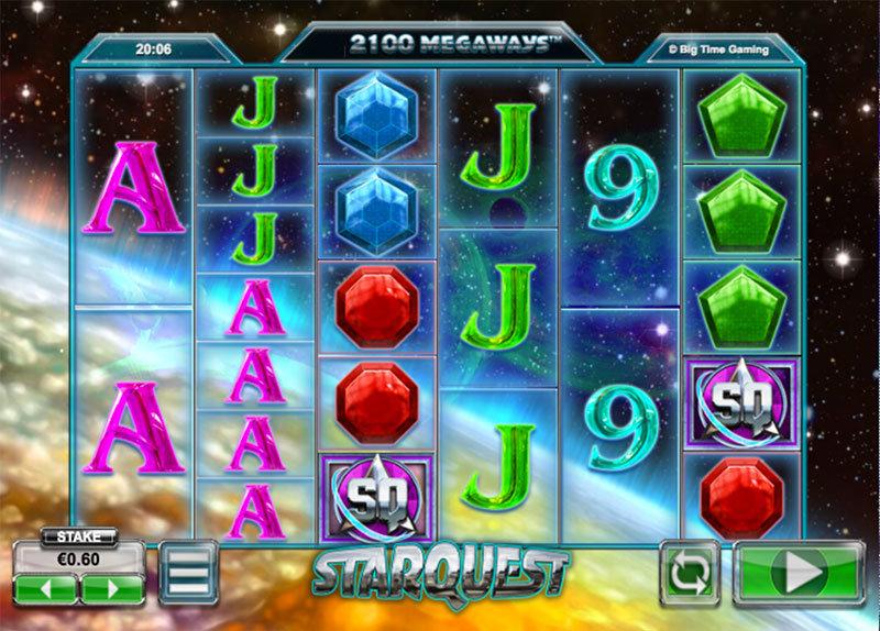 Výherní automat Star Quest