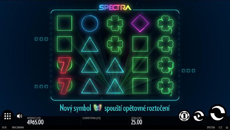 Výherní automat Spectra