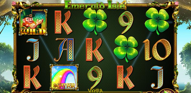 Výherní automat Emerald Isle