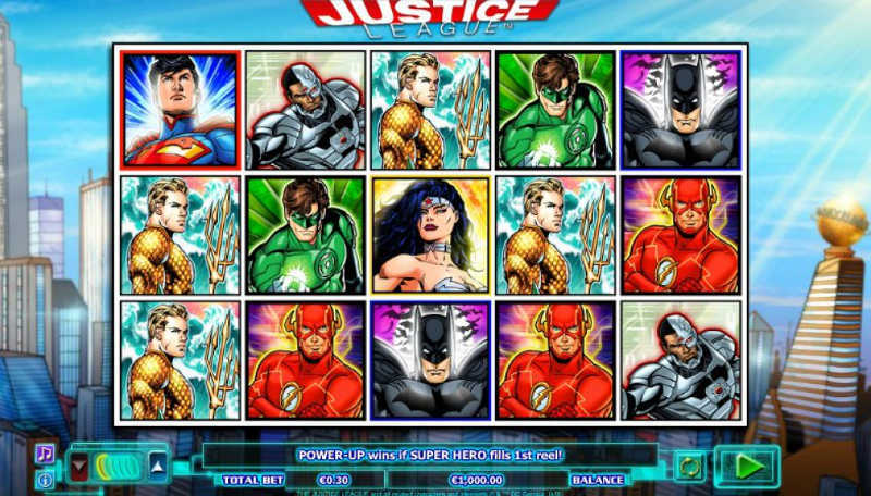 Výherní automat Justice League