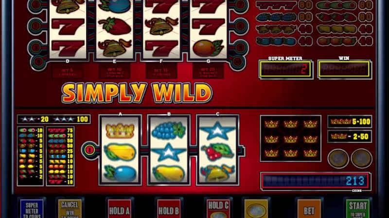 Výherní automat Simply Wild
