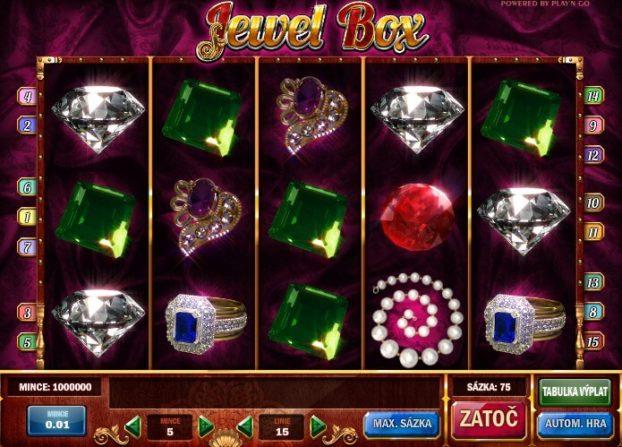Jewel Box hrací automat