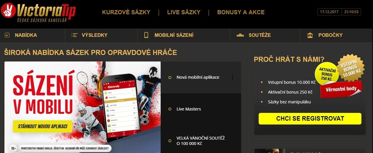 Victoria Tip získala licenci na české online casino