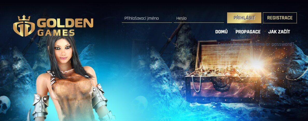Golden Games nové české online casino s licencí