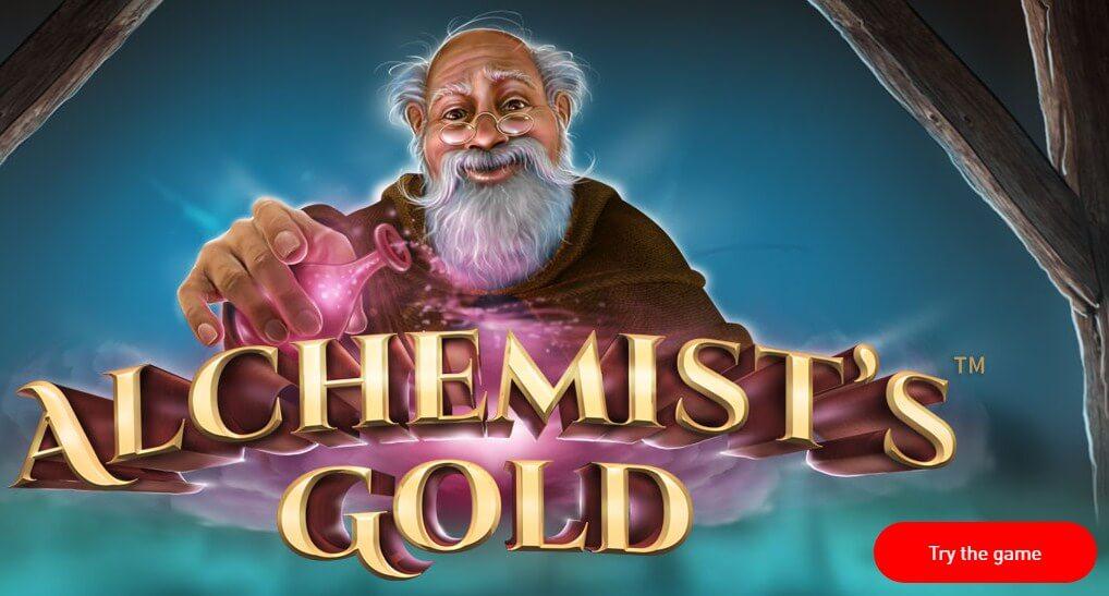 Synot automaty – automat Alchemist's Gold