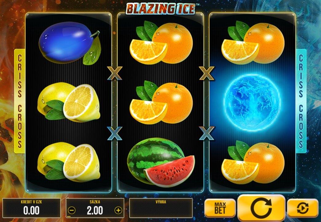 Synot automaty – výherní automat Blazing Ice