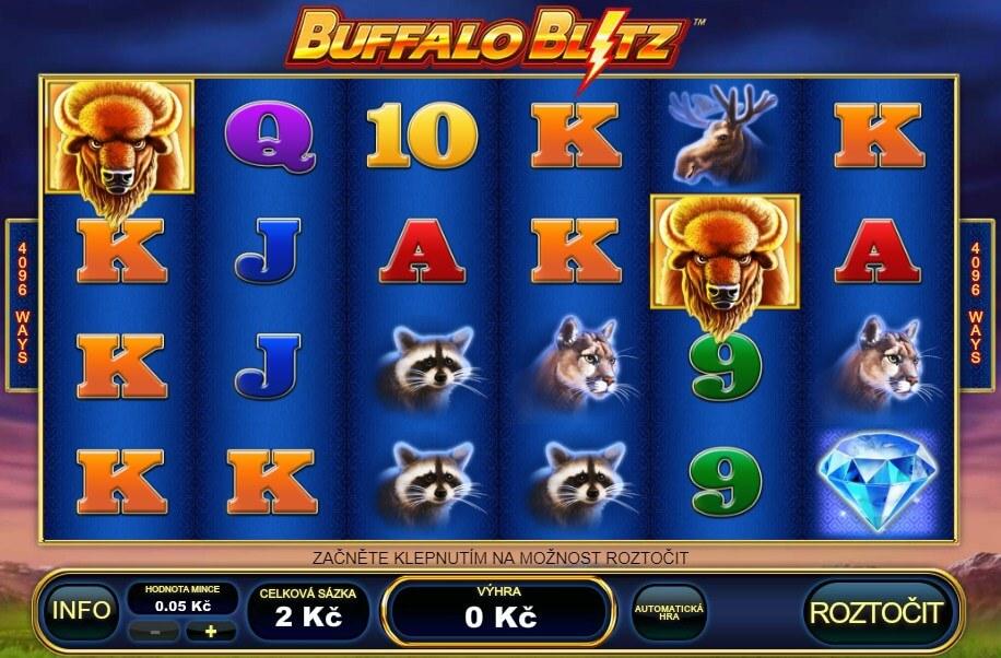 Fortuna automaty – online automat Buffalo Blitz