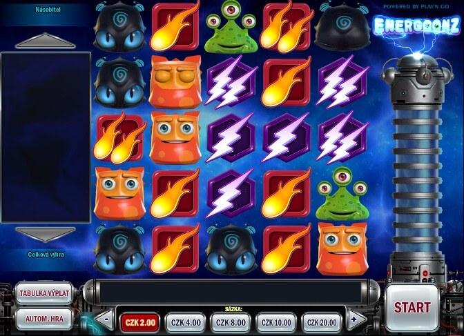 Hrací automaty – online automat Energoonz
