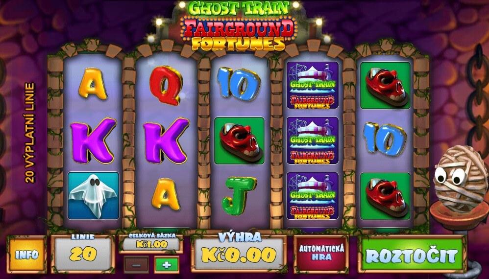 Výherní automaty – online automat Fairground Fortunes