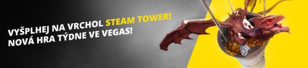 Fortuna Casino soutěž na Steam Tower