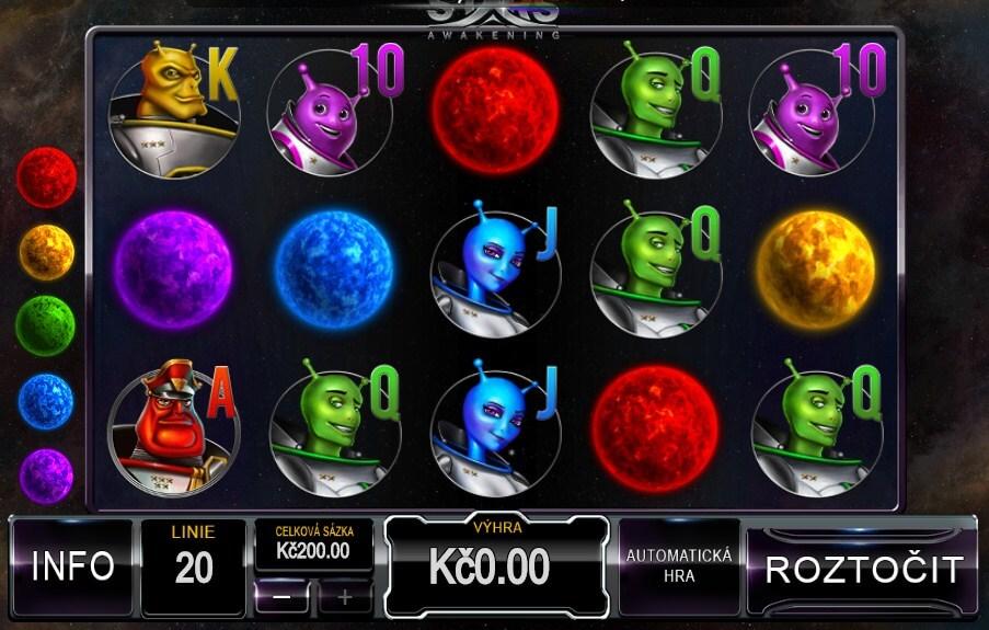 Online automaty – video automat Stars Awakening