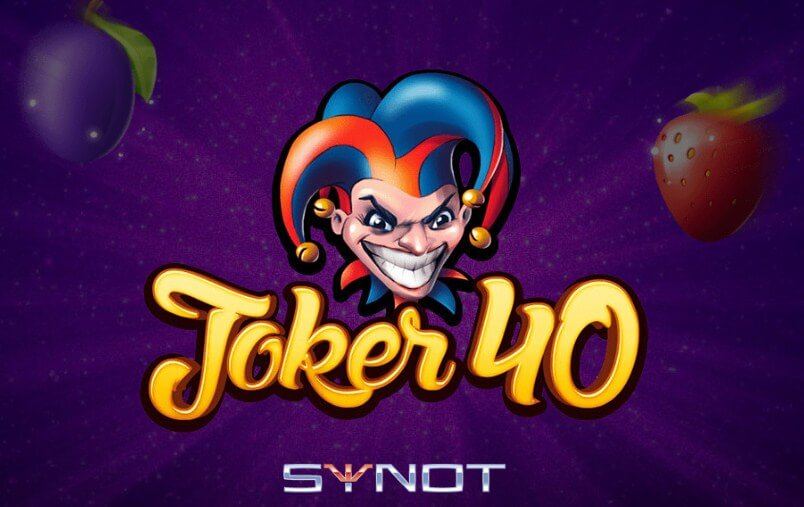 Synot automaty – klasický automat Joker 40