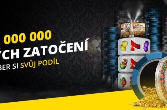 Získejte 100 zatočení zdarma jen tak ve Fortuna Casinu